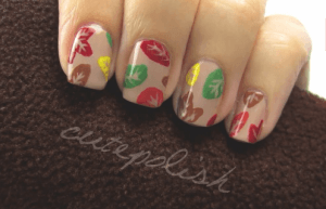 nail art autunno video tutorial