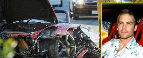 Celebrity car crash 2019