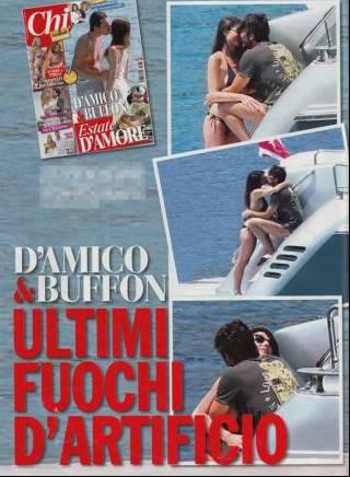 Gigi Buffon e Ilaria D'Amico hot