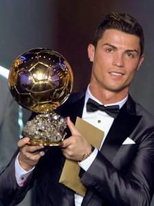 Cristiano Ronaldo choc