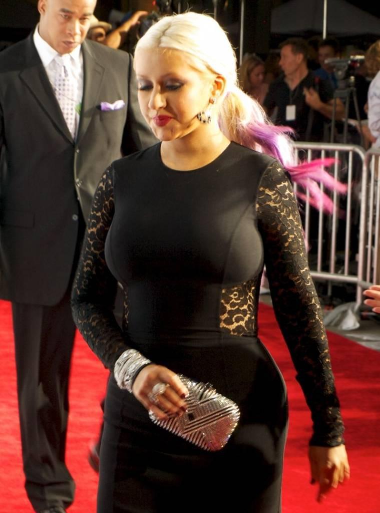 Christina Aguilera mamma