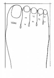 piede squadrato
