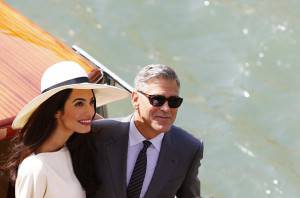 ITALY-US-BRITAIN-PEOPLE-WEDDING-CLOONEY