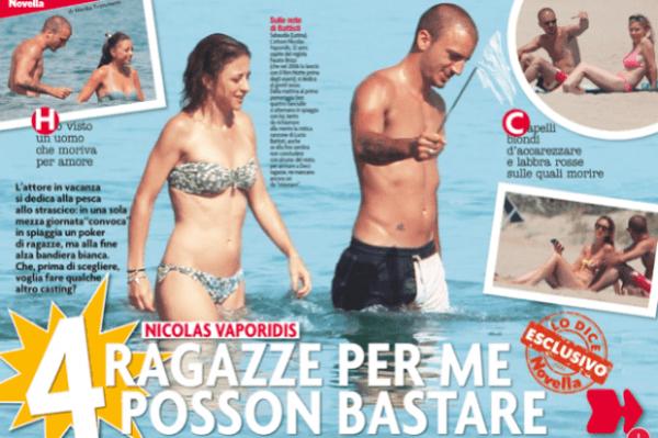 Nicolas Vaporidis single
