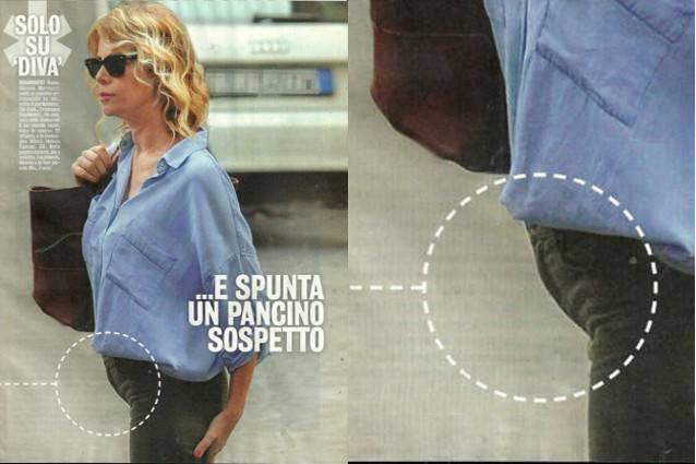Alessia marcuzzi incinta le foto del pancino sospetto - Diva futura l avventura dell amore ...