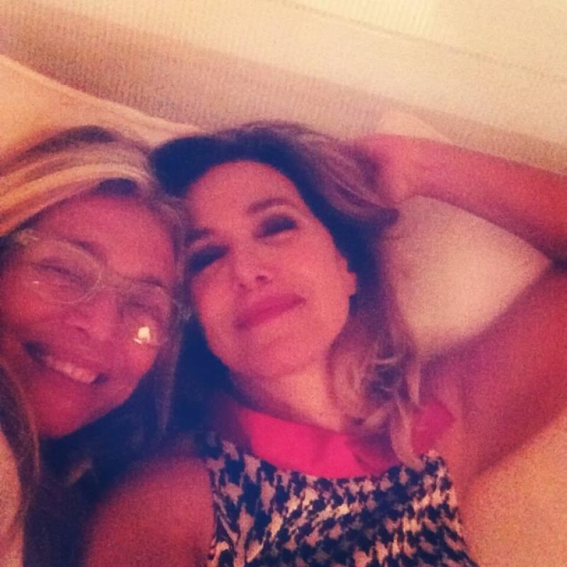 Barbara D'Urso e Mara Venier
