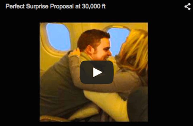 Matrimonio In Alta Quota : La prima proposta di matrimonio ad alta quota il