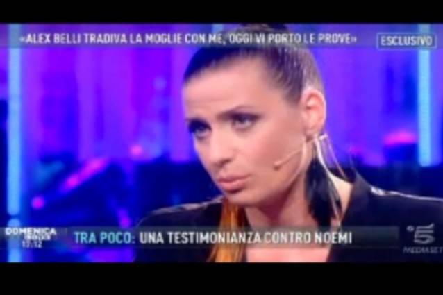 alex belli noemi addabbo