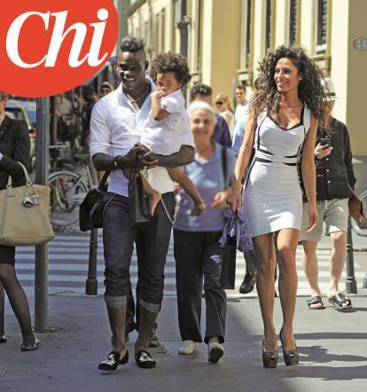 Mario Balotelli Torna Da Raffaella Fico Per La Piccola Pia