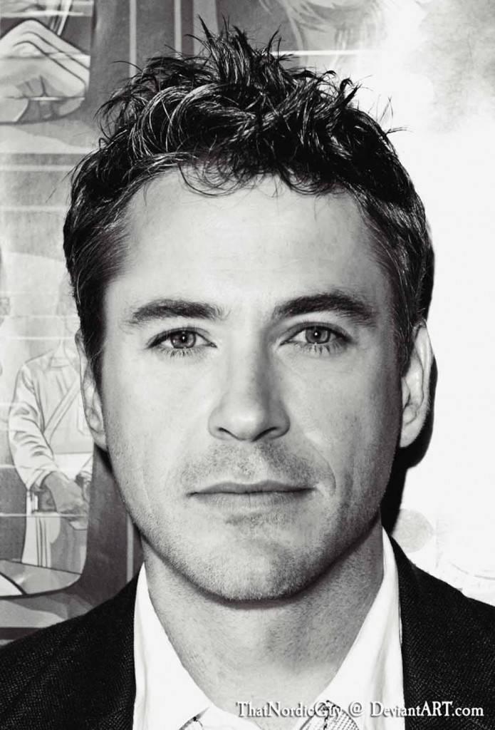 Robert Downey jr e Chris Hemsworth. (Foto ThatNordicGuy)