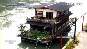 casa galleggiante grande fratello
