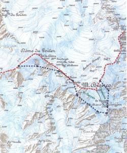 Il-confine-italiano-in-rosso-e-quello-francese-in-blu-Carta-Laura-e-Giorgio-Aliprandi-in-Le-Grandi-Alpi-nella-cartografia-1482-1885-Priuli-Verlucca-vol-II-2007