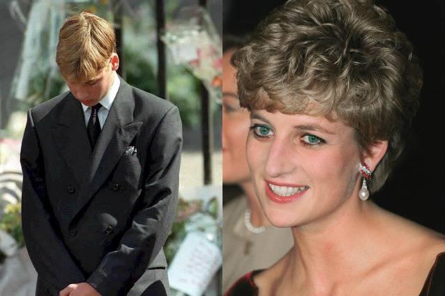 Principe william la confessione sulla morte di lady diana - Successione morte di un genitore ...