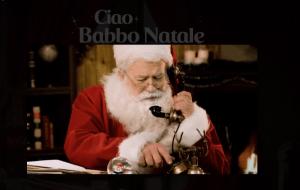 Babbo Natale telefona tuo figlio