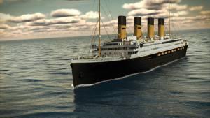 La nave del Titanic