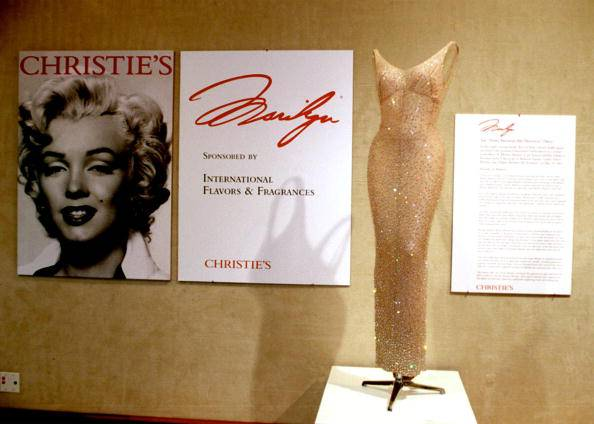 Marilyn Monroe Auction at Christie''s in Beverly Hills
