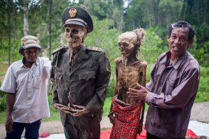 Mummies Get A Change Of Dress During Ma'nene Ritual In Indonesia