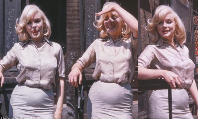 Inedito: arrivano le foto di Marilyn Monroe incinta