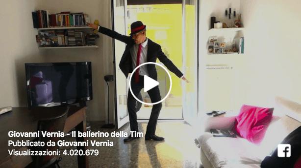 Ballerino Tim 'impallinato' da Giovanni Vernia. La parodia è virale