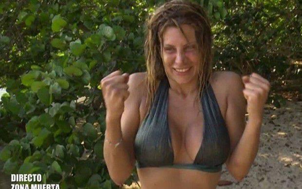 Paola Caruso: riceve pugno in testa nel reality Supervivientes