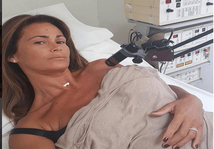 Samantha De Grenet in ospedale: