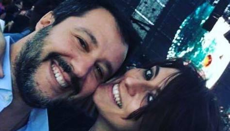 Elisa Isoardi Matteo Salvini:
