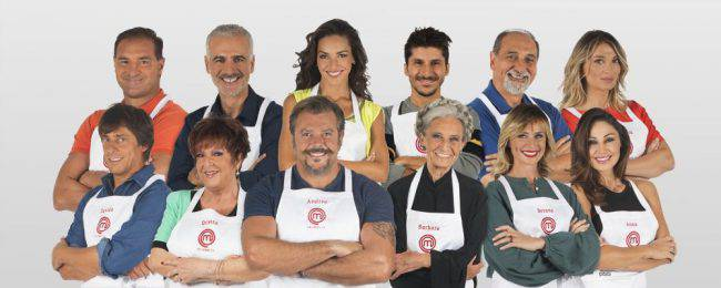 I concorrenti di Celebrity MasterChef 2