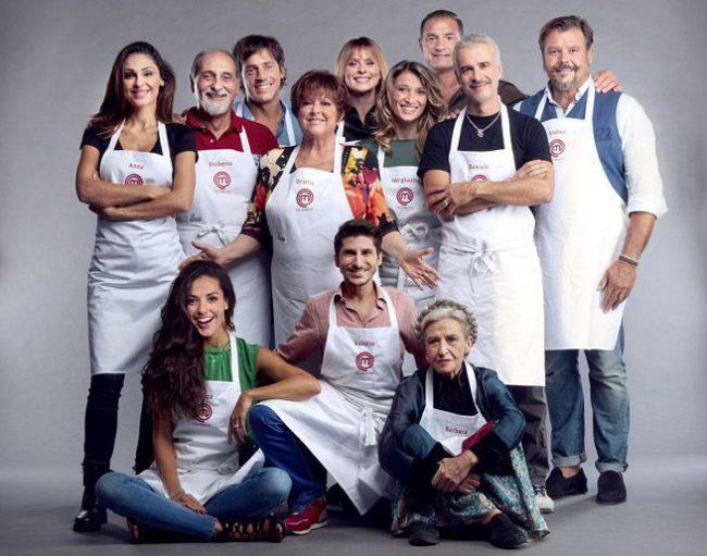 Celebrity MasterChef Italia, i famosi ai fornelli