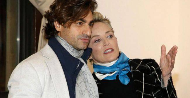 Sharon Stone e Angelo Boffa
