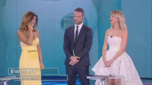 Alessia Mancini tra le braccia del marito Flavio, scoppia la passione