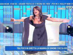 Incidente a luci rosse a 'Domenica Live': Aida Nizar fa scandalo