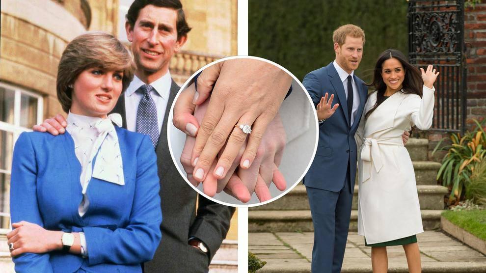 Royal Wedding: L'anello di Lady Diana al dito di Meghan Markle