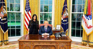 """Kin Kardashian alla Casa Bianca: """"Serve una riforma carceraria"""""""