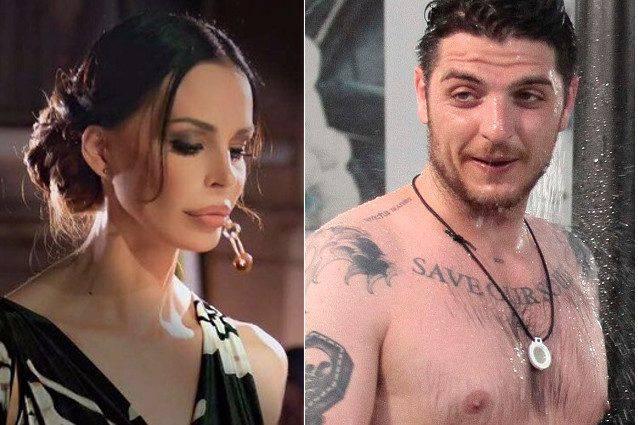 Grande Fratello: Nina Moric molla Luigi Favoloso in diretta
