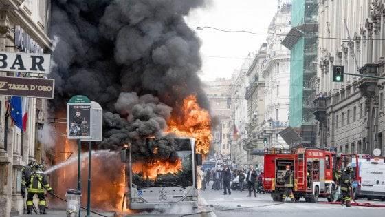 L'autobus esploso
