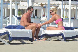 Mario Cipollini e Francesca Marcon: Giochi d'amore a Forte dei Marmi