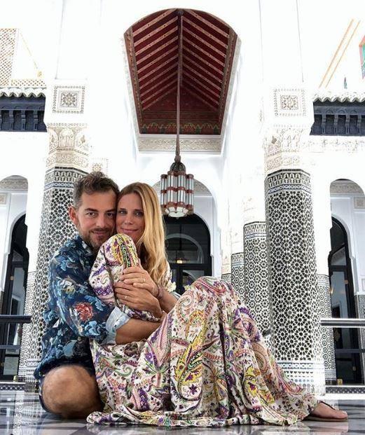 Daniele Bossari e Filippa Lagerback: le foto della luna di miele