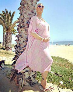 Brigitte Nielsen incinta del quinto figlio: ecco le foto del pancione
