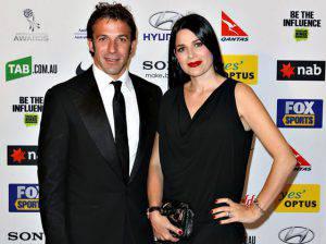 Alex Del Piero e Sonia Amoruso: dopo 19 anni insieme è crisi?
