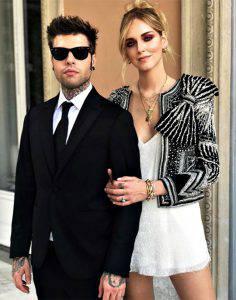 Fedez e Chiara Ferragni: look da favola per il matrimonio
