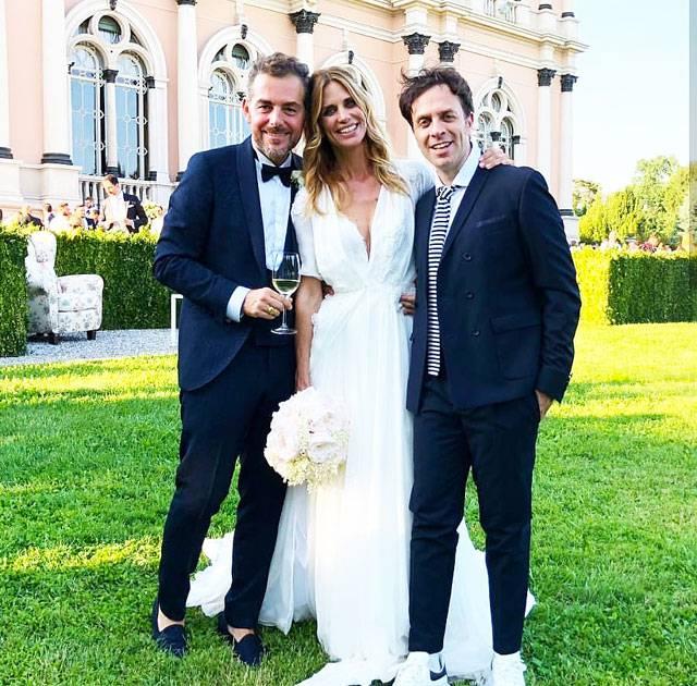 Matrimonio Bossari Lagerback : Daniele bossari e filippa lagerback sposi ecco le