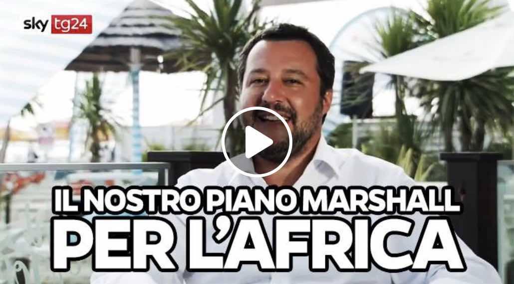 Salvini piano marshall Africa