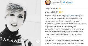 Nadia Toffa post