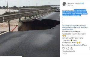 Crollo Ponte Sardegna