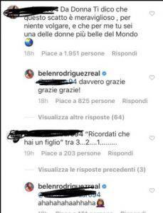Screen dei commenti