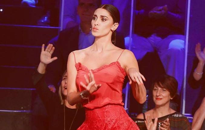 Belen Rodriguez balla