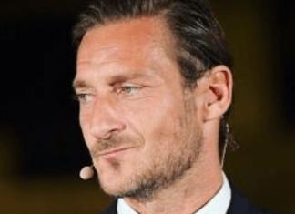 Francesco Totti dedica