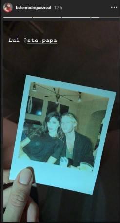 Belen Rodriguez in foto con...