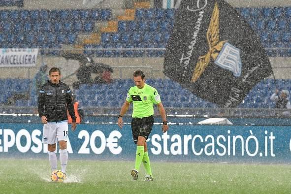 Lazio-Inter allerta meteo