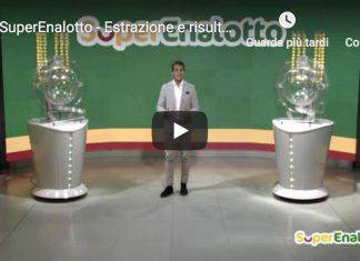 estraziopni lotto in diretta 20 ottobre 2018